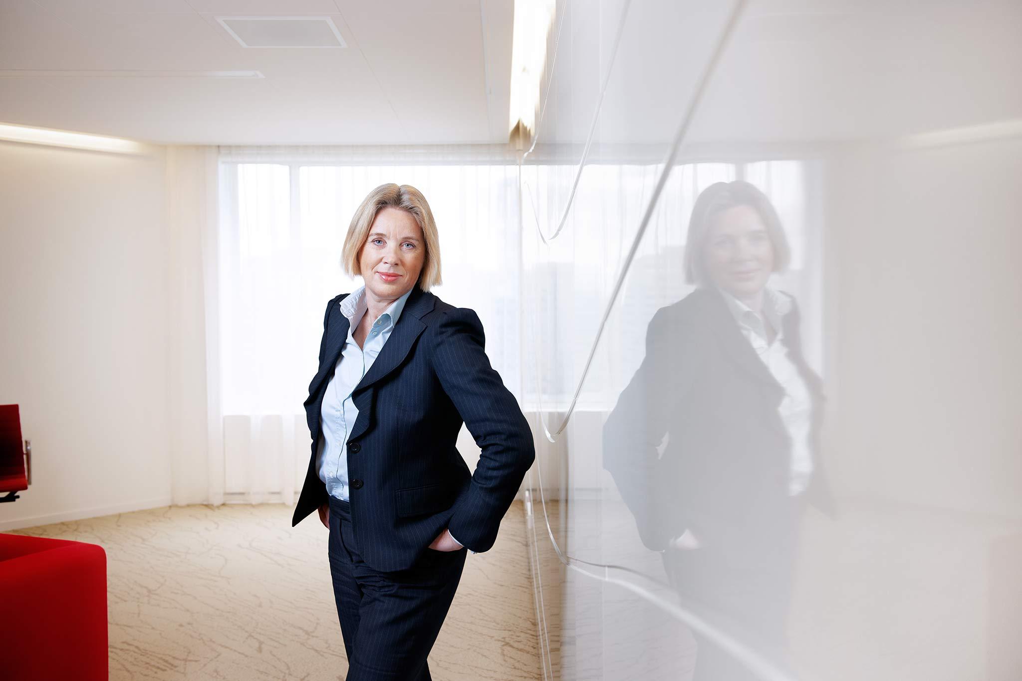 CFO pensioenfonds | zakelijk portret vrouw