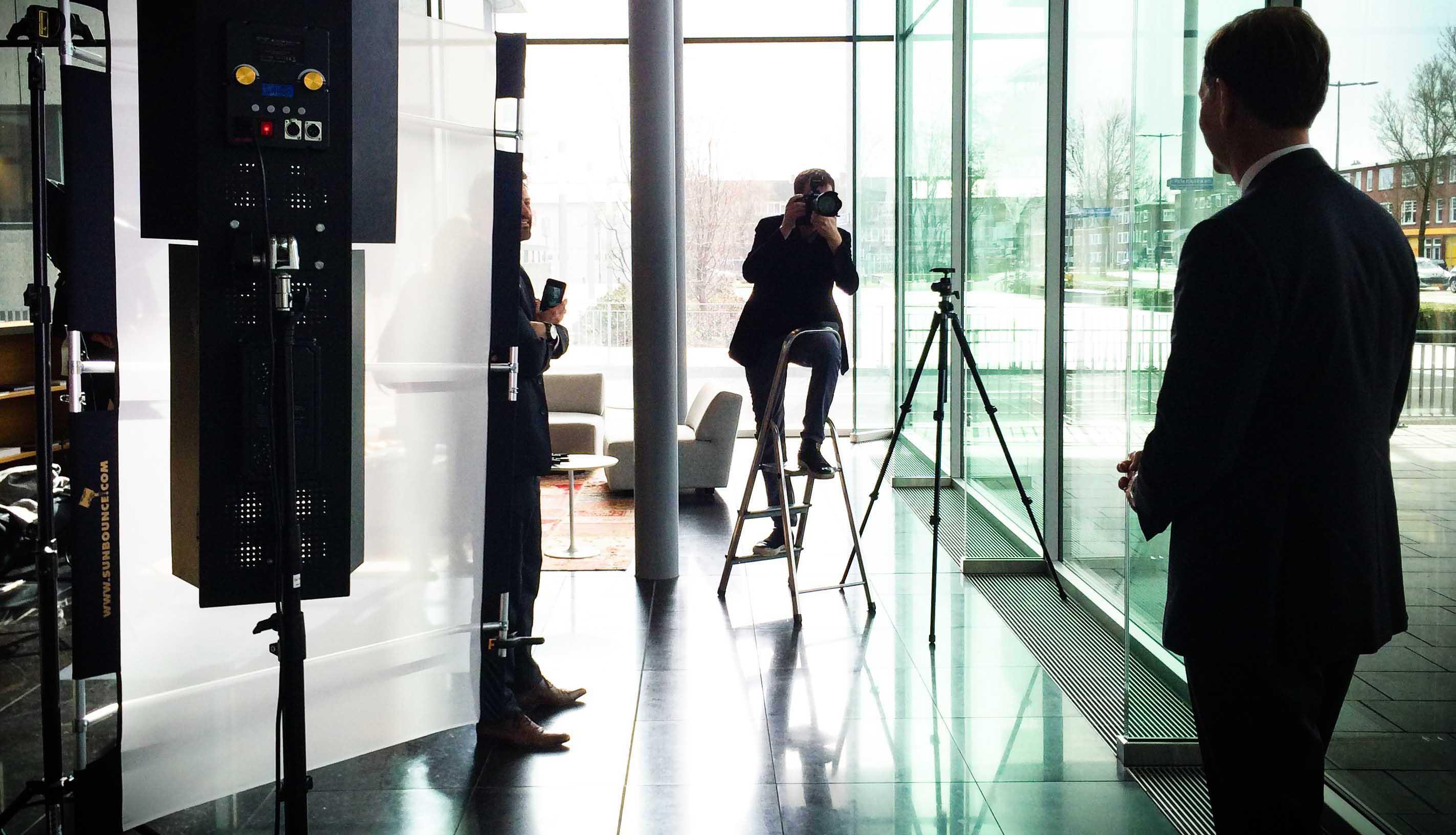 zakelijke fotoshoot organiseren | bedrijfsfotografie amsterdam