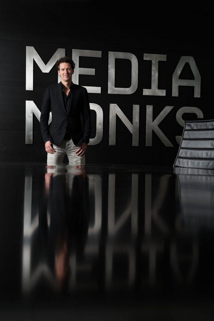 Victor Knaap - managing director Media Monks | zakelijk portret man